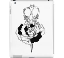 Rose and Scissors  iPad Case/Skin