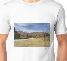 Fall colours with lake in Canada Unisex T-Shirt