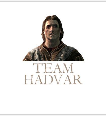 team hadvar Sticker