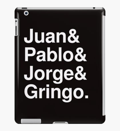Mexican Beatles (in white!) iPad Case/Skin