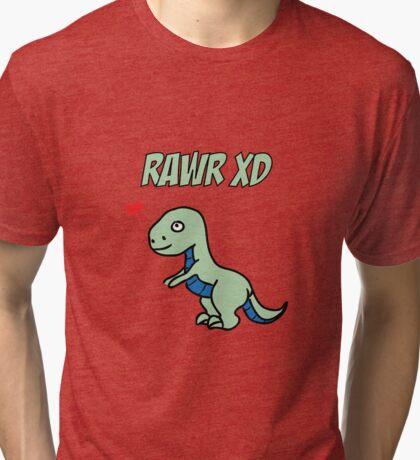 Rawr XD Tri-blend T-Shirt