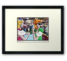 Groggles Framed Print