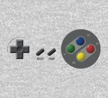 SNES Buttons Kids Clothes