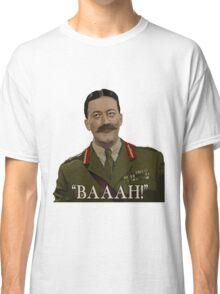 Blackadder - General Melchett Classic T-Shirt