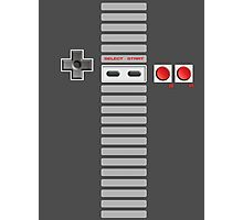 NES Buttons (Full Stripes) Photographic Print