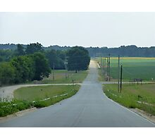 At The Crossroads. Photographic Print