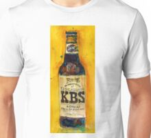 Stout Ale - KBS Founders Brewing Co. Man Cave Unisex T-Shirt