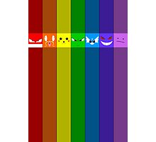 Rainbowkémon Photographic Print