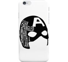 Star spangled man with a plan. iPhone Case/Skin