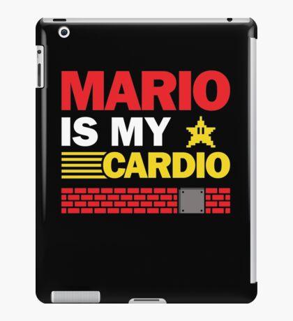 Mario Is My Cardio iPad Case/Skin