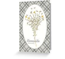 Chamomile Bees Greeting Card