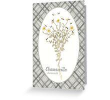 Chamomile Bees Greeting Card