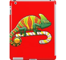 Christmas Chameleon iPad Case/Skin