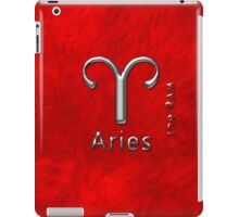 Aries March 21 To April 20 iPad Case/Skin