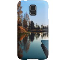 Romantic evening at the lake VI | waterscape photography Samsung Galaxy Case/Skin