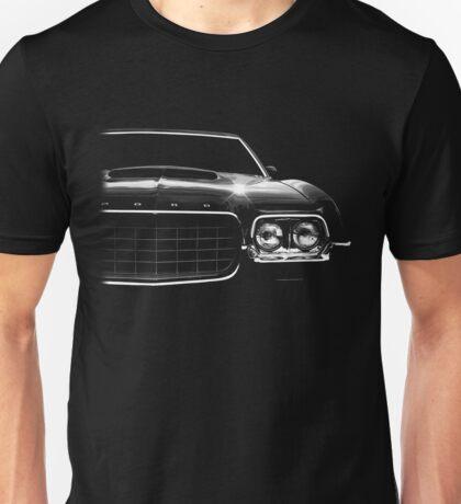 1972 ford gran torino, black shirt Unisex T-Shirt