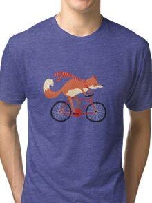 mr. fox Tri-blend T-Shirt