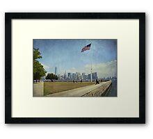 Manhattan Framed Print