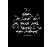 Captain Swan quotes - ship Photographic Print