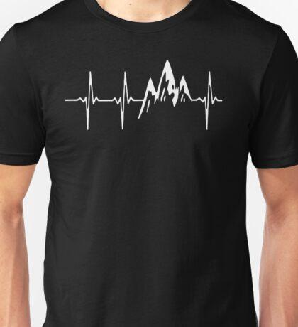 MOUNTAIN IN MY HEARTBEAT T SHIRT  Unisex T-Shirt