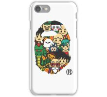 バプxDBZ iPhone Case/Skin