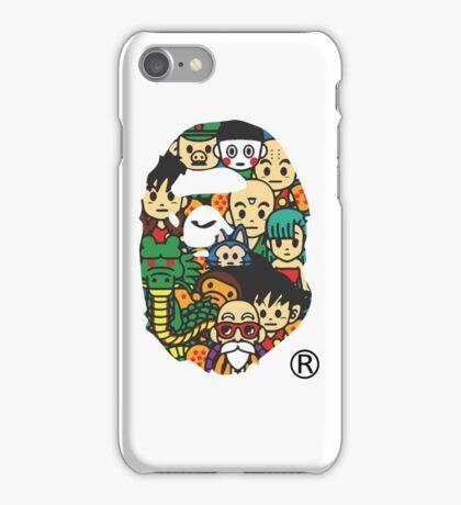 バプxDBZ iPhone Case/Skin