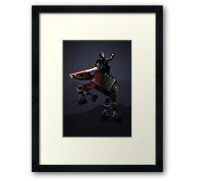 Moonlight Rider Framed Print