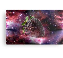 Space Berry Metal Print