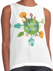 Save the Planet Contrast Tank
