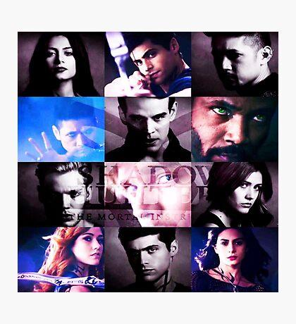 Shadowhunters Season 2 Collage Photographic Print