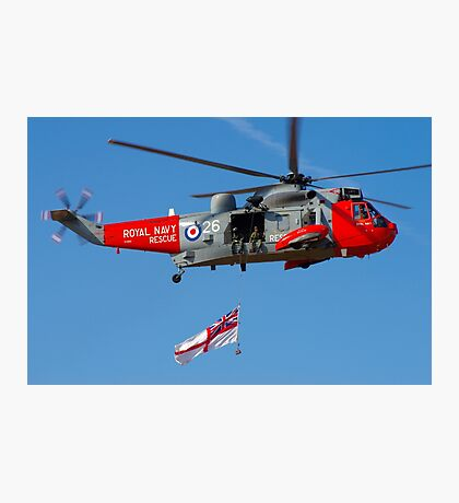 Navy Sea King Photographic Print