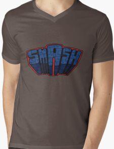 // SmAsh // Don't Stop Superheroes // Ashton // Mens V-Neck T-Shirt