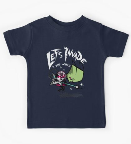 Invade the World Kids Tee