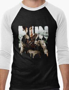 runner - thomas Men's Baseball ¾ T-Shirt