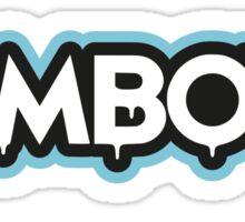 Zomboy - logo blue - Dubstep - shirt Sticker
