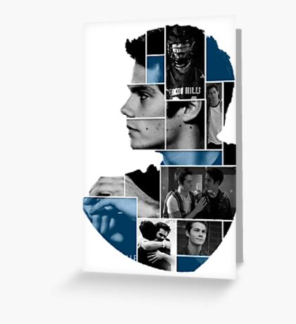 Dylan O'Brien Squares Greeting Card