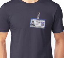 Resident Evil - Leon Kennedy Police ID Badge Unisex T-Shirt