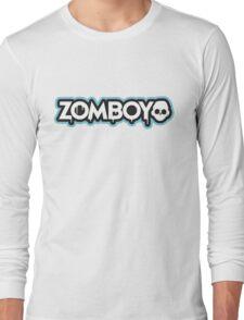 Zomboy - logo blue - Dubstep - shirt Long Sleeve T-Shirt