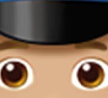 Emoji Police Officer (Blonde Male) Sticker