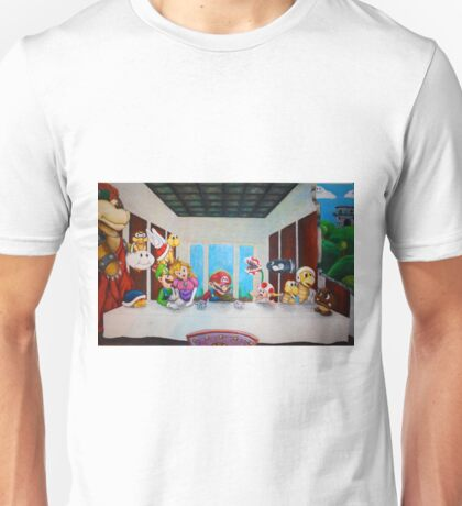 Mario the Last Supper Unisex T-Shirt