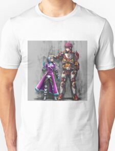 Small Space Pirate & Giant Bounty Hunter Unisex T-Shirt