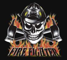 Firefighter Skull 4 by sdesiata