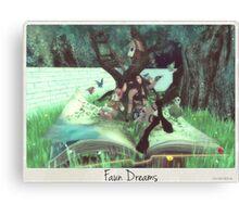 Faun Dreams Canvas Print