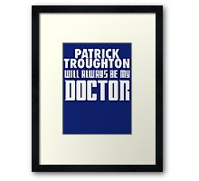 Doctor Who - Patrick Troughton will always be my Doctor Framed Print