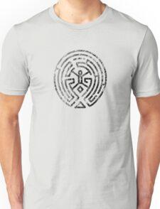 Westworld Maze Original Black Distressed Unisex T-Shirt