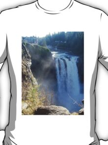 Snoqualmie Falls with House T-Shirt