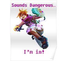 Arcade Ezreal Poster