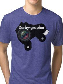 Derby-grapher Tri-blend T-Shirt