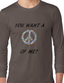 Passive Aggressive Hippie Long Sleeve T-Shirt