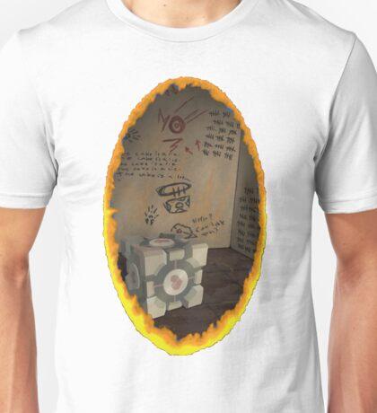 Orange Portal Unwalled Unisex T-Shirt